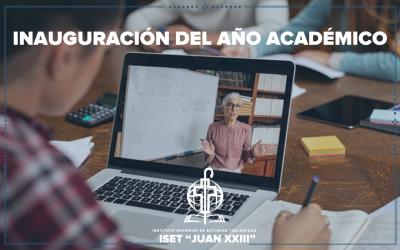 Inauguración del año académico 2021