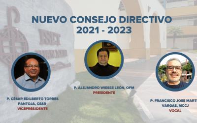 NUEVO CONSEJO DIRECTIVO 2021- 2023